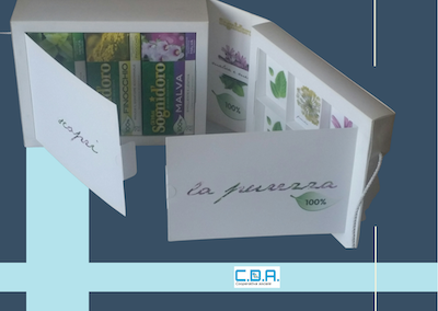 CDA box té e tisane assemblato