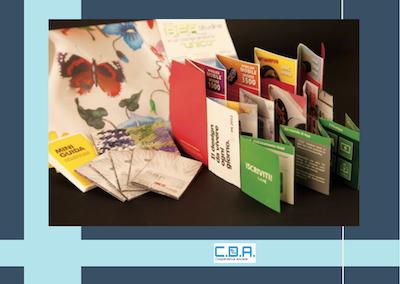 CDA brochure piega a fisarmonica