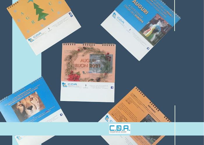 CDA calendario spirale 2021
