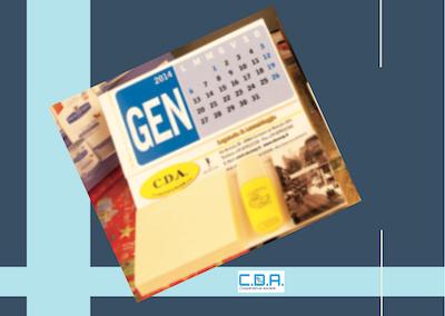 CDA calendario con blocco e gadget