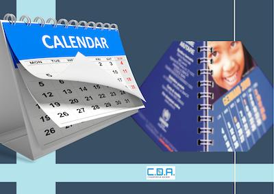 CDA calendari spiralati