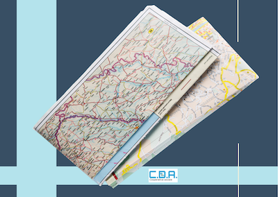 CDA cartine stradali piegate