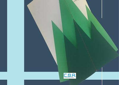 CDA catalogo copertina fustellata