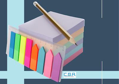 CDA righelli con segnalibro