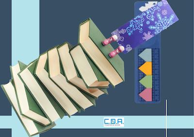 CDA righello segnalibro