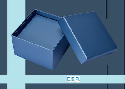 CDA scatola fondo e coperchio
