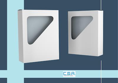 CDA scatola portalibro